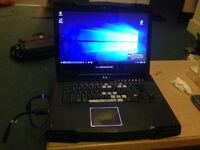 Alienware m15x i3 gaming laptop 4gb ram nvidia GeForce gtx 240 1gb gpu. 2.35ghz i3 cpu