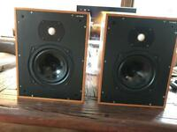 RARE COLES nimbus speakers BOXED