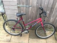 Giant Hollywood Ladies Bike. Lovely condition, Serviced, Free Lock, Lights, Dekivery