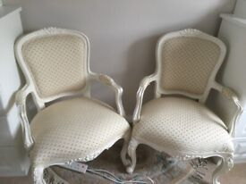 French Style Chair x 2