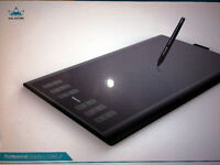 Huion Graphics Tablet size 35.9cm lenth X 23.9cm wide. Bran New never used