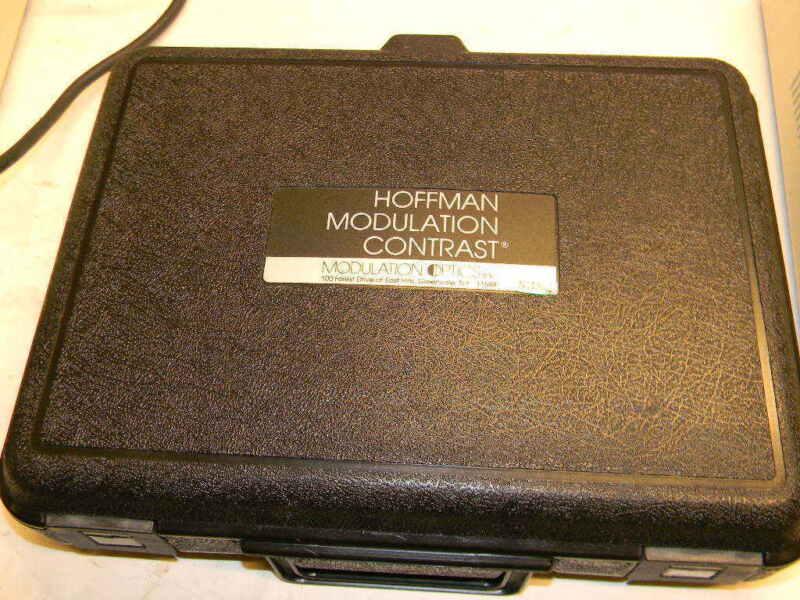 Hoffman Modulation Contrast Microscope Condenser 40mm WD / 0.5na, W Polarizer