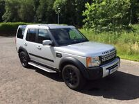 LAND ROVER DISCOVERY 3 2.7TDV6 SE SILVER, MANY EXTRAS, FSH, 4x4 7 SEATS