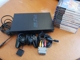 Sony Playstation 2 FAT Console PS2 + 13 Games, 8mb memory card, all in VGC