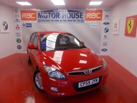 Hyundai i30 COMFORT(A MUST FOR VIEWING) FREE MOT'S AS LONG AS YOU OWN THE CAR!!! (red) 2009