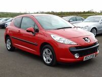 2009 Peugeot 207 verve only 50000 miles, motd april 2018, tidy example all cards welcome