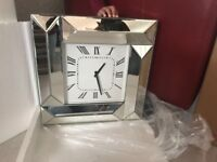 Brand new glass wall clock- unused fully working