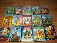 Bundle of 30 childrens dvds