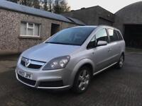 2008 Vauxhall Zafira Exclusive 7 Seater Great Spec MOT'd Fantastic Condition £1700