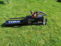 Titan 550w Hedge Trimmer. Model No. TTB357GHT. Hardly used. Excellent condition.