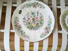 English bone china plate Aynsley