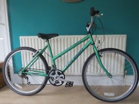 "GREAT LADIES BIKE ""RALEIGH SPIRIT""18.5""-LIGHTWEIGHT FRAME.ALL FULLY WORKING,READY TO RIDE AWAY ON."