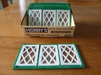 OVER 40 HOBBY'S BRAND DOLL'S HOUSE WINDOWS AND DOORS