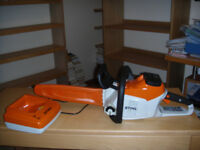 STIHL MSA 200 C - BQ 14 in chainsaw with AP180 battery & AL300 charger