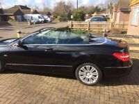 Mercedes Convertible, Low Mileage, Lots of Extras