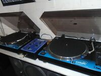 DJ TURNTABLES AND MORE...!