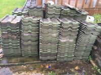 Roof tiles (Redland) 278 + 20-30 chipped/broken