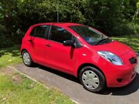 Toyota Yaris. Perfect 1st car! 1L. Manual. Petrol. Red. 5 door. 5 seat. Family owned since new.