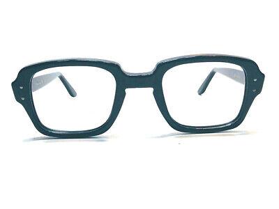 Vintage RETRO MILITARY S9 Eyeglass Frame RARE GI BCG 50 eye 24 Bdg Steampunk NOS