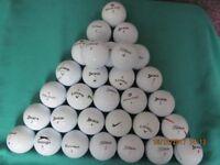 30 MIXED GOLF BALLS