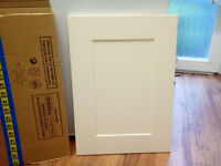 Kitchen Unit Doors , (job lot), cream Shaker-style doors and drawer fronts (Howdens), ALL NEW!