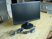 "LG 22"" Widescreen monitor/screen Flatiron W2234S"