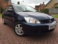 *ATTENTION*A VERY RARE OPPURTUNITY WITH ONLY 17,000 GENUINE MILES*2007(57)MITSUBHISHI LANCER 1.6*