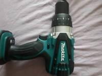 Makita DHP 458 18V combi hammer drill