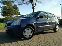 2004 RENAULT CLIO 1.5 DCI 5DR *3 OWNERS IMMACULATE CONDITON*