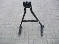 Universal towball mounted cycle carrier
