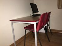 School style table and chairs