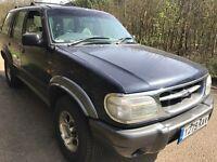Ford Explorer 4.0 V6 Auto 4011cc Petrol/LPG 4x4 Estate Y Reg 03/04/2001 Blue