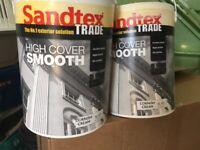 Sandtex masonary paint, 7.5lt