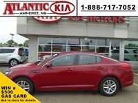 2013 Kia Optima LX in Temptation Red Full Size with Great Fuel E