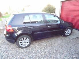 2007 Volkswagon Golf 1.6 Petrol *low miles 58853* £2495