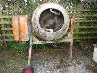 Electric Concrete Mixer 120 lt