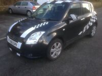 2008 Suzuki Swift 1.5 GLX 5Door in Black
