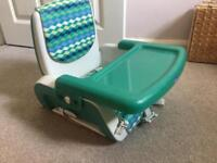 Kids' Chicco Booster Seat (Mars) with Tray - great condition