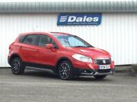 Suzuki Sx4 S-Cross 1.6 SZ5 Allgrip 4x4 Automatic 5dr (bright red) 2014