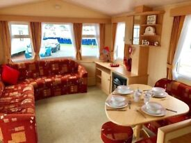 ⭐️⭐️ASK DARREN FOR TO VIEW THIS DOUBLE GLAZED/HEATED 3 BED CARAVAN AT SANDY BAY HOL PARK⭐️⭐️