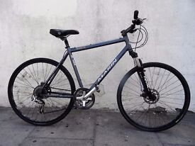 Quality Mens Hybrid/ Commuter Bike by Marin, Grey, Top Equipment , JUST SERVICED/ CHEAP PRICE!!!!!!!