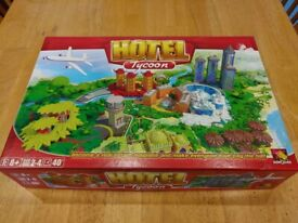 Hotel Tycoon Family Board Game - Immaculate