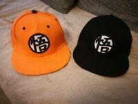 2 x DRAGON BALL Z Caps