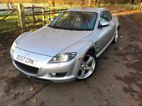 Mazda RX8 1.3 CC 231 BHP 6-Speed Silver 12months leather interior £1150