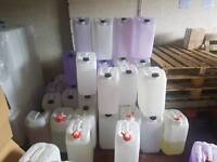 Used 25 litre UN approved jerry cans HDPE cheapest in the uk