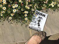 Titan 2500 garden shredder