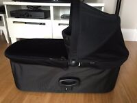 Baby Jogger Deluxe Carry Cot complete with adapters