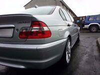 LHD BMW E46 320d Full Spec   Sat Nav   Climate Control   Mods   Xenons   FSH   Export