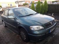 Vauxhall astra 2001 1.6 automatic low miles 9 months mot