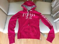 Abercrombie & Fitch Pink Hoodie